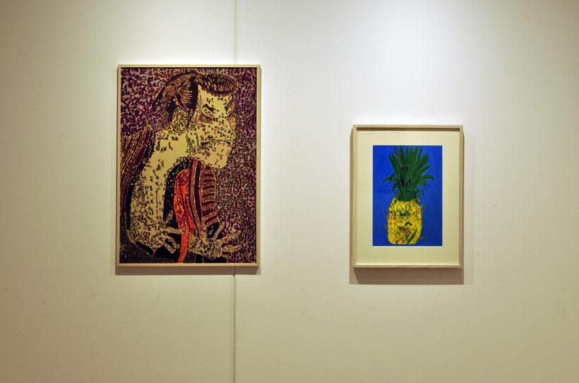 art space co-jin 木村全彦展(2016.9.30-10.30) 展示記録より