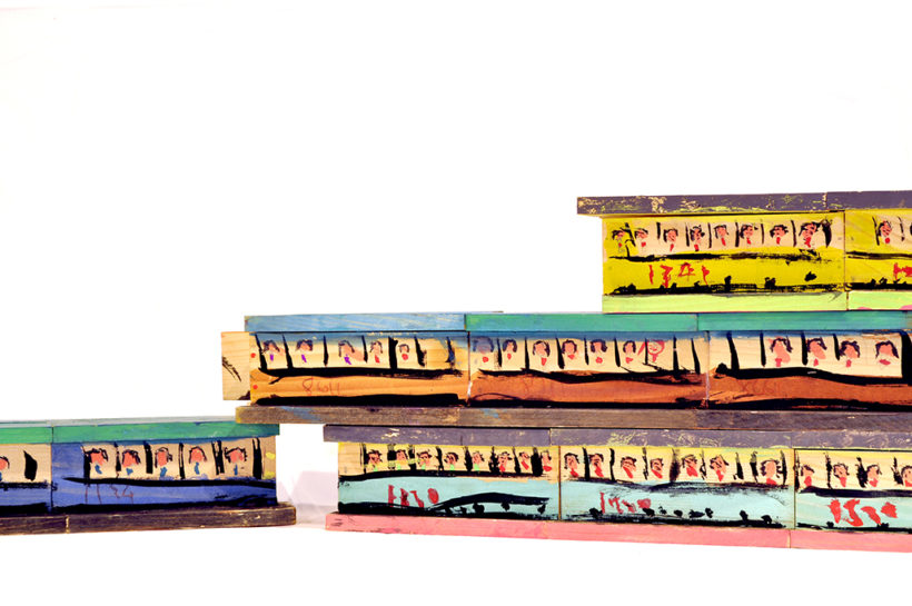 「近鉄電車」 寺川誠 2004 年