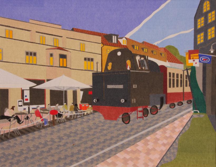 「蒸気機関車」藤橋貴之 2011年