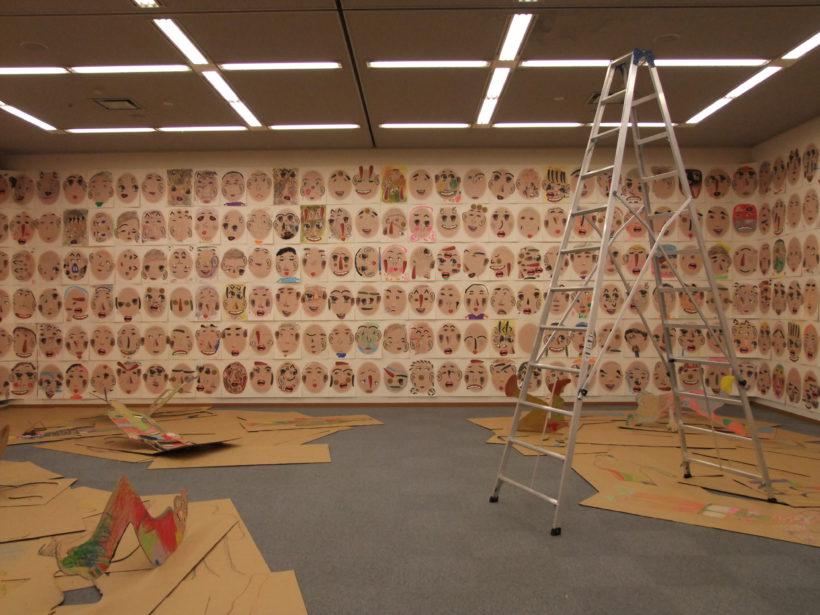 徳島県立近代美術館ギャラリーでの展示風景