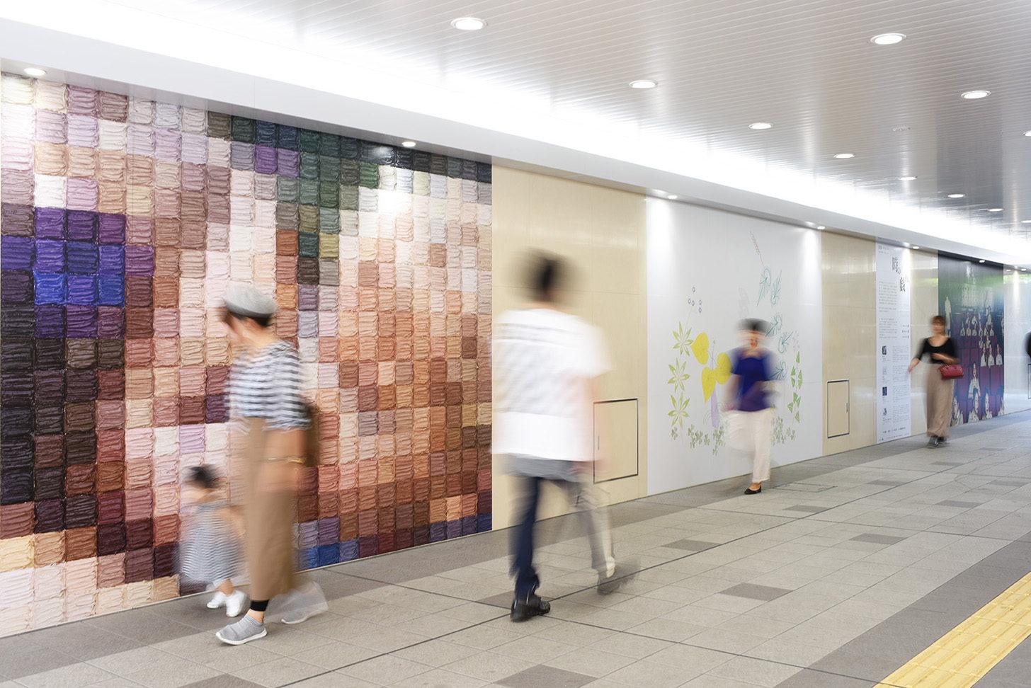 SOU-JR総持寺駅アートプロジェクト 第4回展示「時の戯れ」
