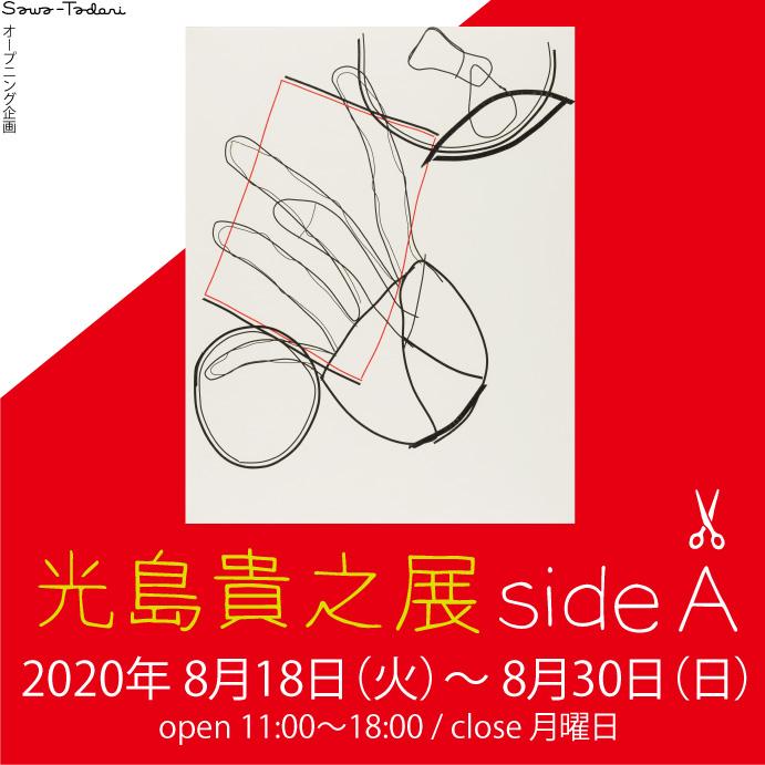 Sawa-Tadori オープン企画〈光島貴之展 side A〉