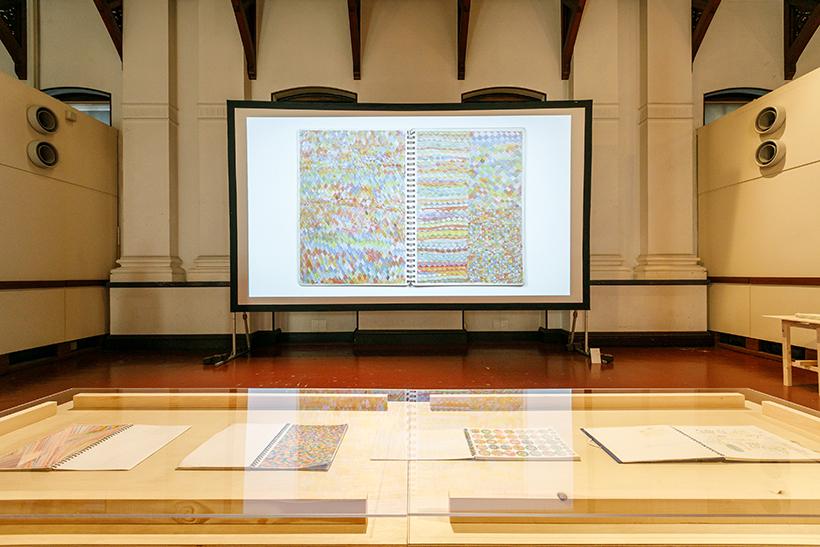 MINAMI Hideo installation view exhibition at the Museum of Kyoto, Annex photo by IRIMAJIRI SAKI